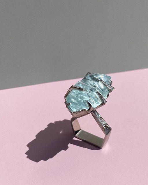 , 'Aquamarine Ring,' 2020, Grima