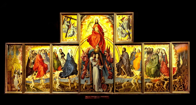 Rogier van der Weyden, 'Altar of the Last Judgment', 1434, Art History 101