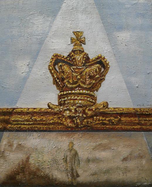 , '永痕-金色的皇冠,' 2014, Triumph Art Space