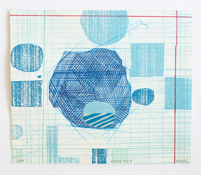 , 'Winter File 9,' 2019, David Krut Projects