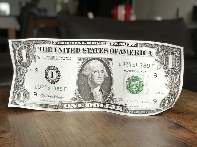 Karl Lagasse, 'One dollar original', 2019, Design by Jaler