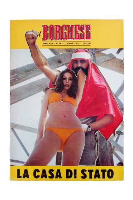 , 'Uncover - Il Borghese 1 Agosto 1971,' 2013, In Situ - Fabienne Leclerc