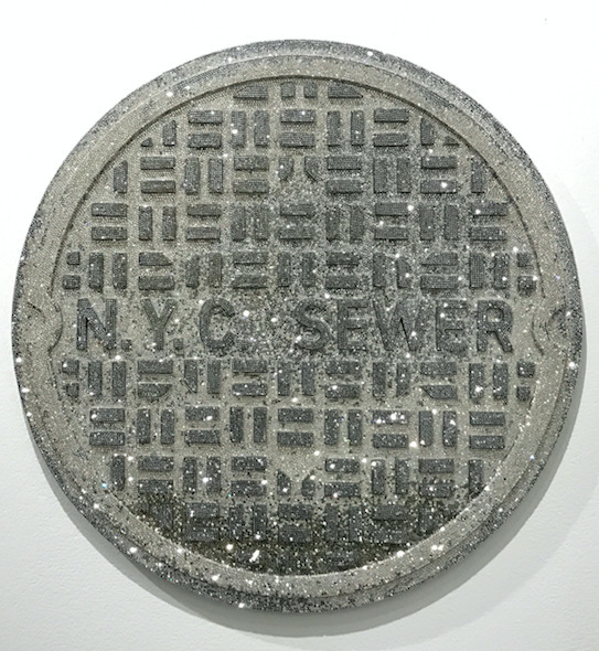 Dan Life, 'NYC Sewer', 2017, Sculpture, Crystals and cast resin- 89,194 stones, Joyce Varvatos