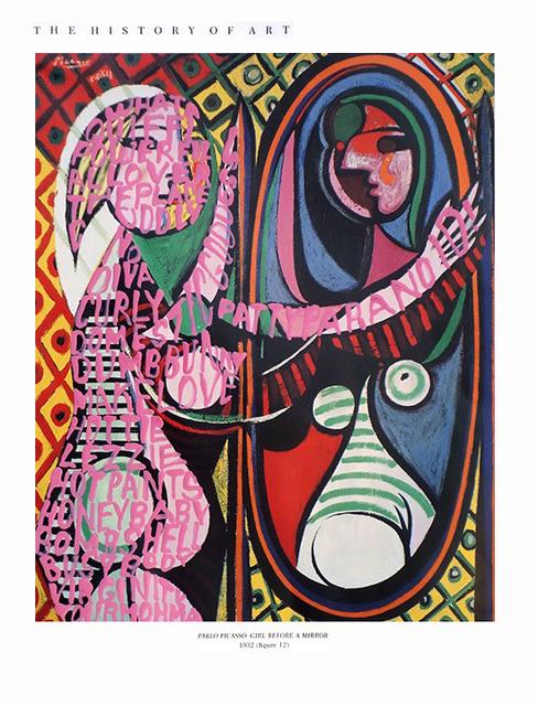 , 'Women Words (Picasso #1),' 6000, P.P.O.W