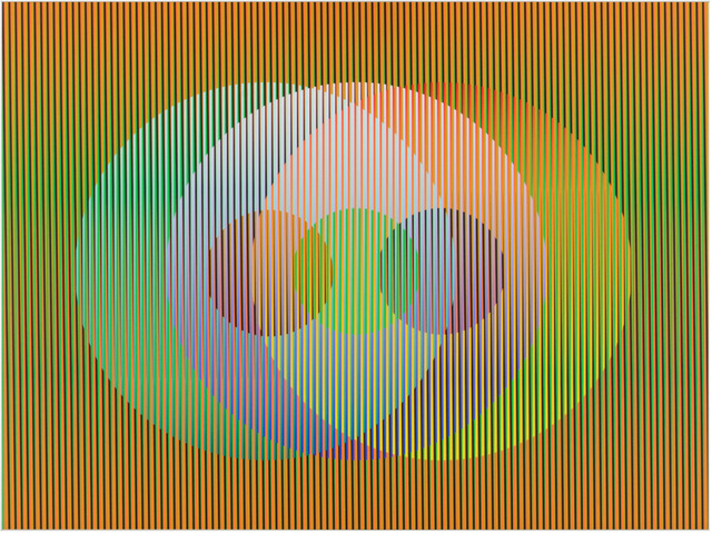 , 'Color Aditivo Panam Circulos 6,' 2010, Marion Gallery