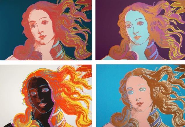 Andy Warhol, 'Details of Renaissance Paintings (Sandro Botticelli, Birth of Venus, 1482)', 1984, Print, Screenprint on Lenox Museum Board, Coskun Fine Art