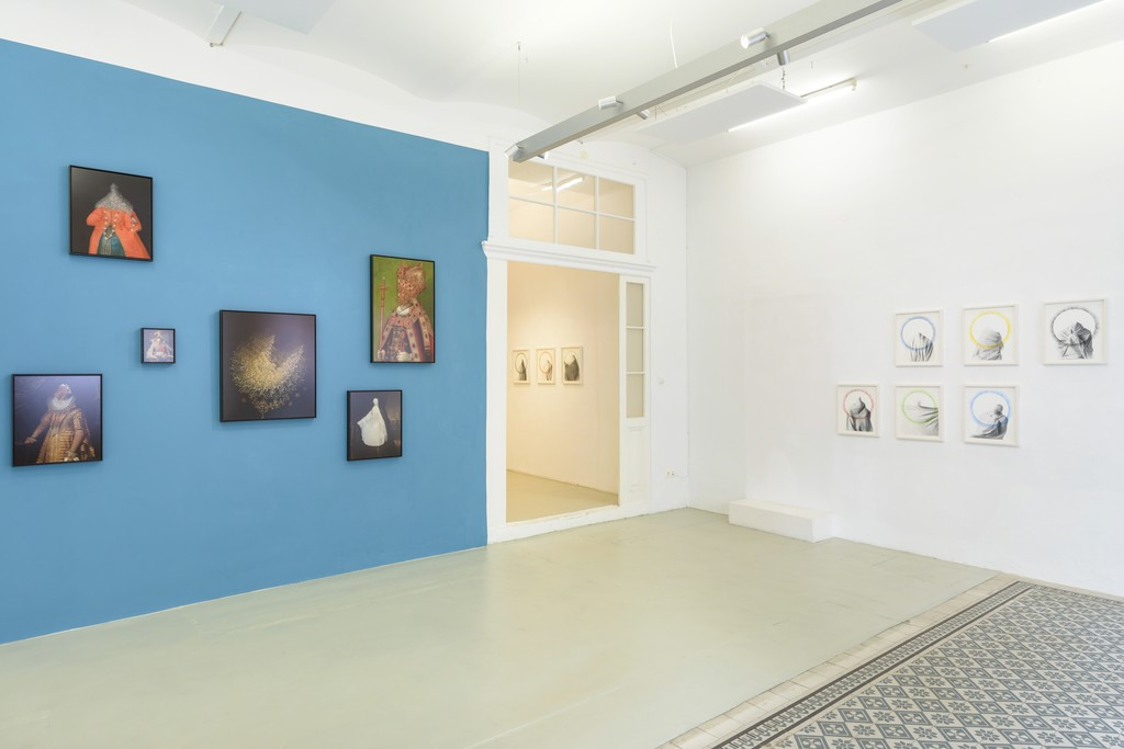 Installation Shot: Gerlinde Miesenböck. Capita, Galerie Reinthaler, 2018. Photo: georgeye