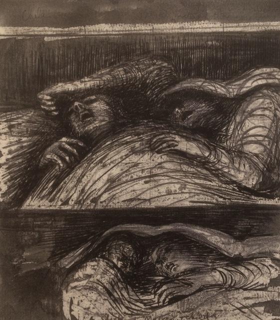 Henry Moore, 'Untitled XL (Shelter Sketchbook)', 1967, Eames Fine Art
