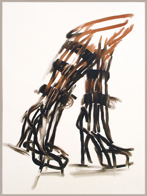 , 'Black Boots,' 2006, Nohra Haime Gallery