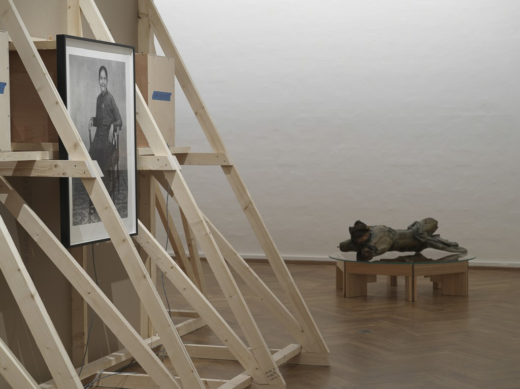 Installation shot of Danh Vo – Take My Breath Away at SMK – National Gallery of Denmark. Photo: Nick Ash