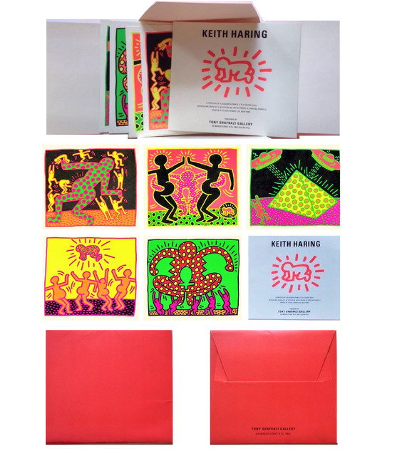", '""Apocolypse"", Promo Mini (5) Card Folio, Shafrazi Gallery NY,' 1985, VINCE fine arts/ephemera"