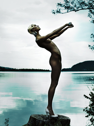 Mario Testino, 'Karlie Kloss, Austria, American Vogue,' 2013, Phillips: Photographs