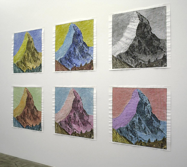 , 'Mountains,' 1990, ProjecteSD