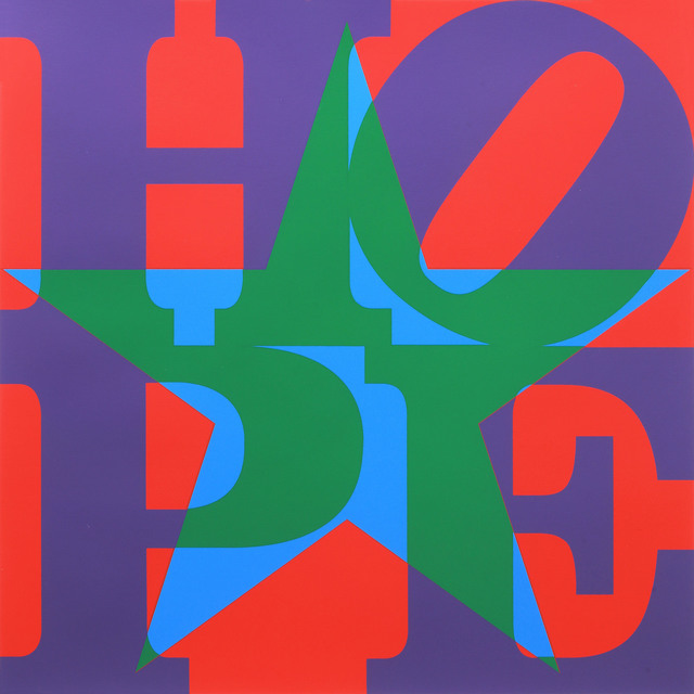 , 'Star of HOPE, (Purple/Green/Blue/Red) ,' 2013, Contini Art UK