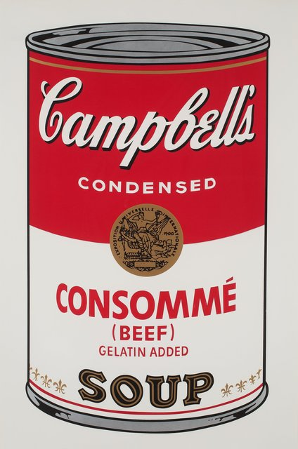 Andy Warhol, 'Campbell's Soup I: Beef Consommé (F&S.II.52) ', 1968, Robin Rile Fine Art