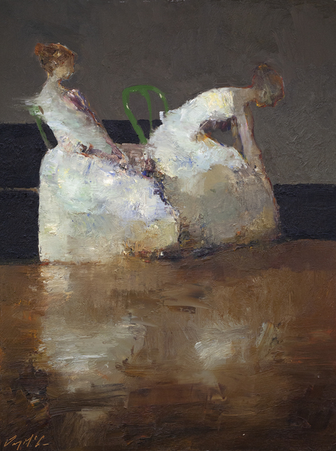Danny McCaw, 'Ballerinas', 2020, Painting, Oil on board, Gallery 1261