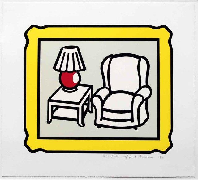 Roy Lichtenstein, 'Red Lamp', 1992, michael lisi / contemporary art