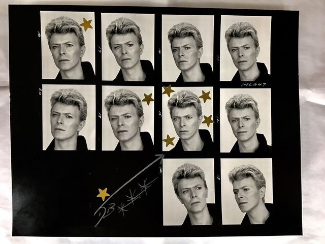 , 'David's Eyes Contact Sheet,' 1983, Imitate Modern