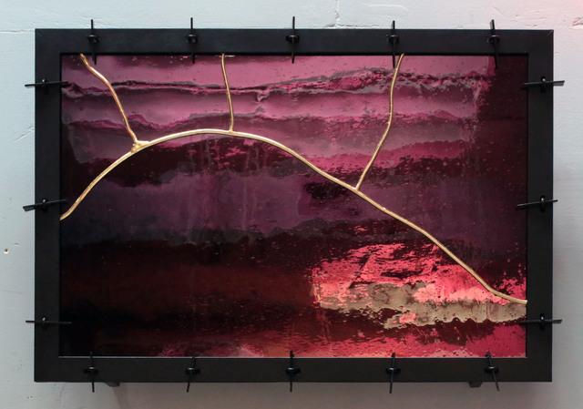 , '2018.10. Vitrail en Kintsugi N°2,' 2018, Galerie Nathalie Obadia