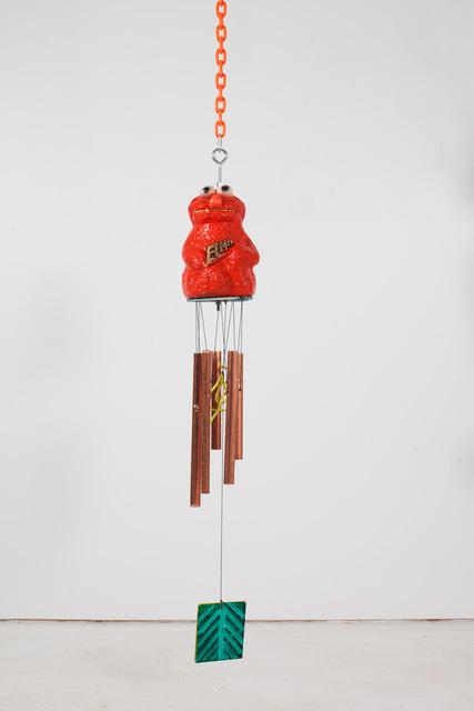 , 'Orange Elmo Chime,' 2017, Reyes Projects