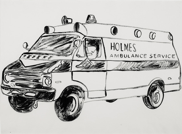 Andy Warhol, 'Holmes Ambulance Service', 1985-1986, Chase Contemporary