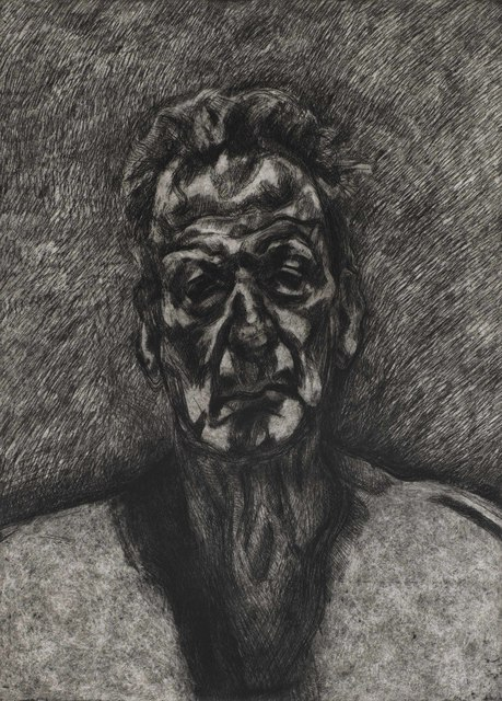 Lucian Freud, 'Self Portrait: Reflection', 1996, Print, Etching on Somerset wove paper, Christie's