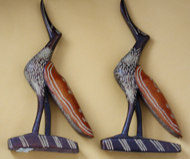 Unknown Artist, 'Carved Wooden Birds (Haitian) ', The Loft Fine Art