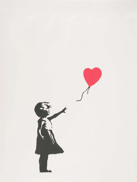 , 'Girl With Balloon,' 2004, Graffik Gallery / Banksy Editions