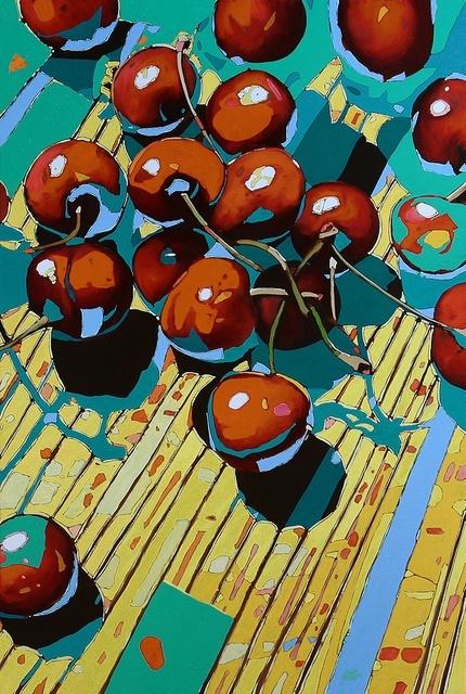 , 'Cherries 02,' 2016, Gallery Katarzyna Napiorkowska | Warsaw & Brussels