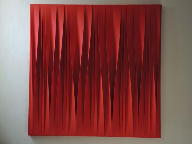 , 'Sincronico rosso in divenire,' 2015, Opera Gallery