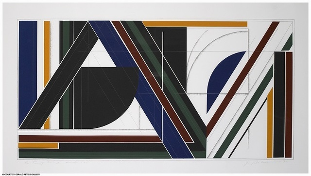 , 'Triangulum X:  Hommage to F.L., 3/12,' 1983, Gerald Peters Gallery Santa Fe