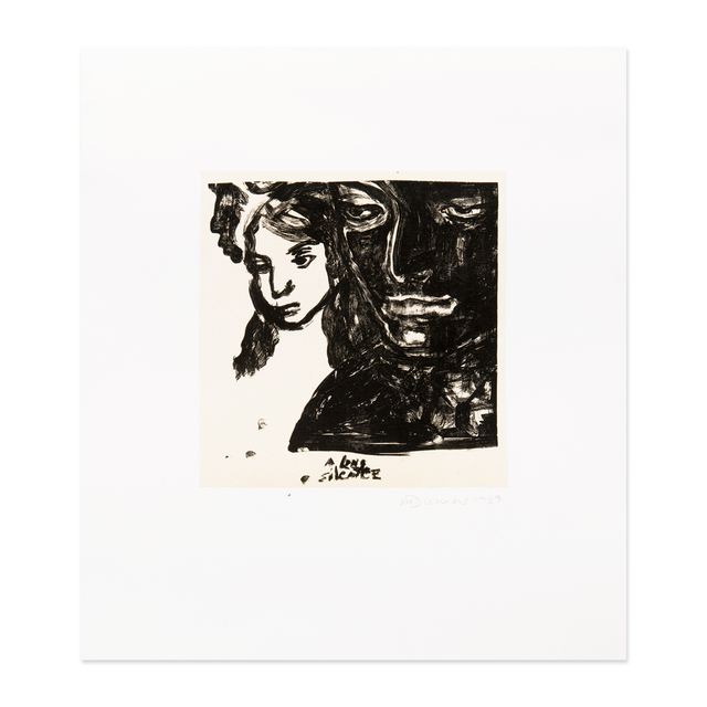 Marlene Dumas, 'A Long Silence', 1989, MLTPL