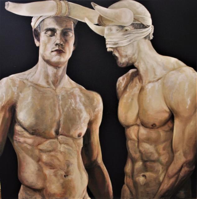 , 'Hommes-Taureaux X,' , Bouillon d'Art Galerie