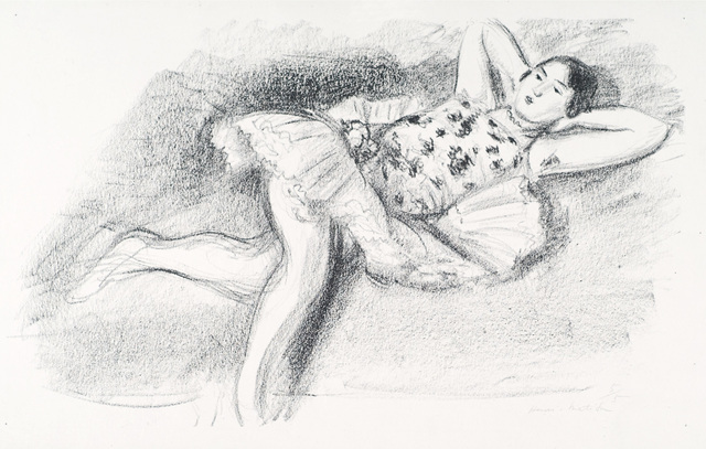 Henri Matisse, 'Danseuse Étendue au Divan [Mains À la Nuque]', 1927, Galerie d'Orsay