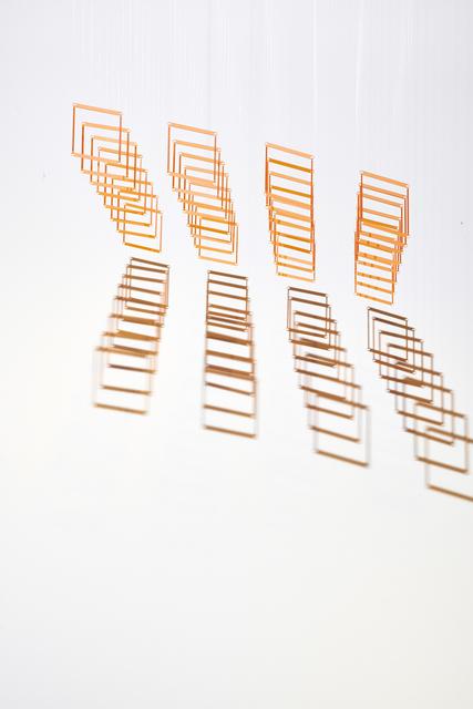 Elias Crespin, '32 Caras (Orange)', 2014, Cecilia de Torres Ltd.