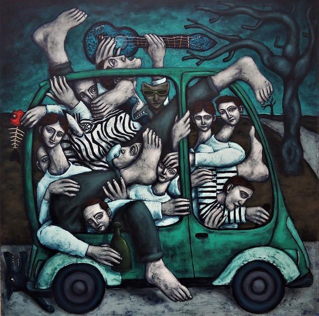 , 'Monospace,' 2018, Bouillon d'Art Galerie