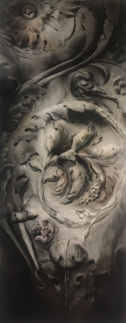 , 'Acanthus Leaves,' 2017, Cristin Tierney