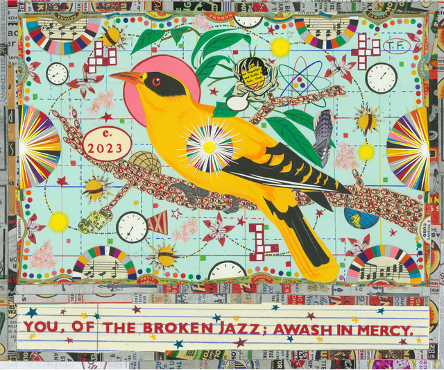 , 'Bird of the Broken Jazz (Black Naped Oriole),' 2016, Hexton Gallery