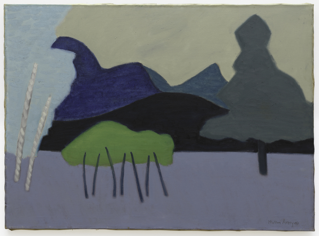 Milton Avery, 'Clear Cut Landscape', 1951, San Francisco Museum of Modern Art (SFMOMA)