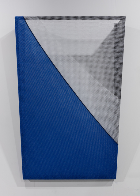 , 'TRI (blue and white),' 2018, Goodman Gallery