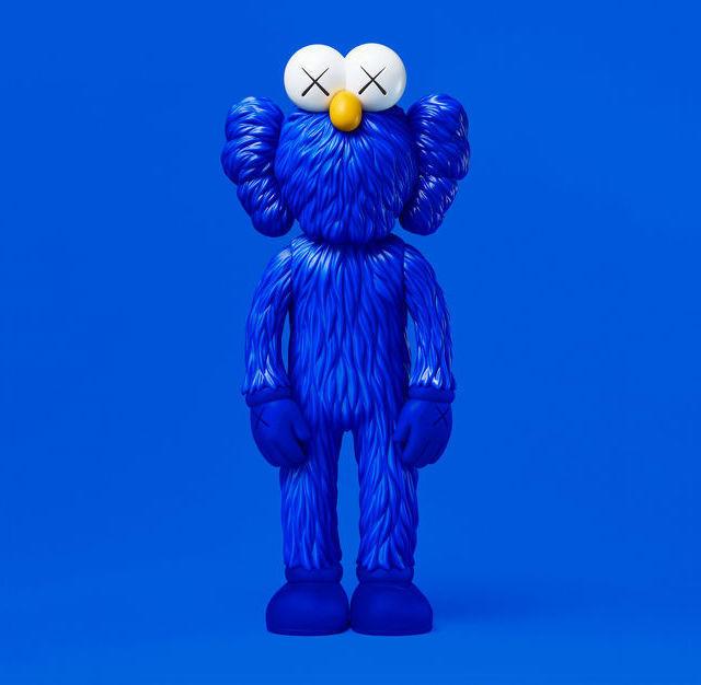 KAWS, 'BFF (Open Edition) BLUE', 2017, Marcel Katz Art