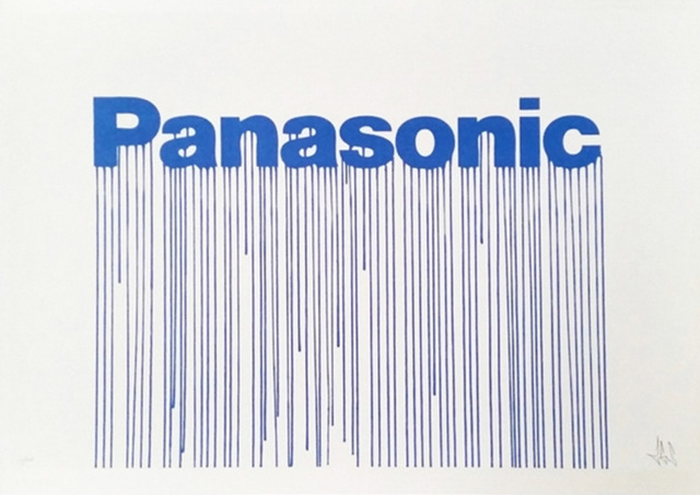 Zevs, 'Liquidated Panasonic (from Liquidated London set)', 2012, On The Wall