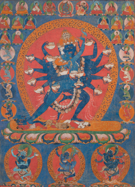 , 'Thangka of Hevajra,' 17th century, Rossi & Rossi