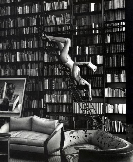 , 'Linda in Library,' 1993, Atlas Gallery