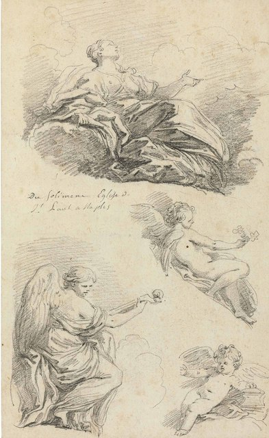 , 'Angels making music, after Francesco Solimena,' , Christie's Old Masters