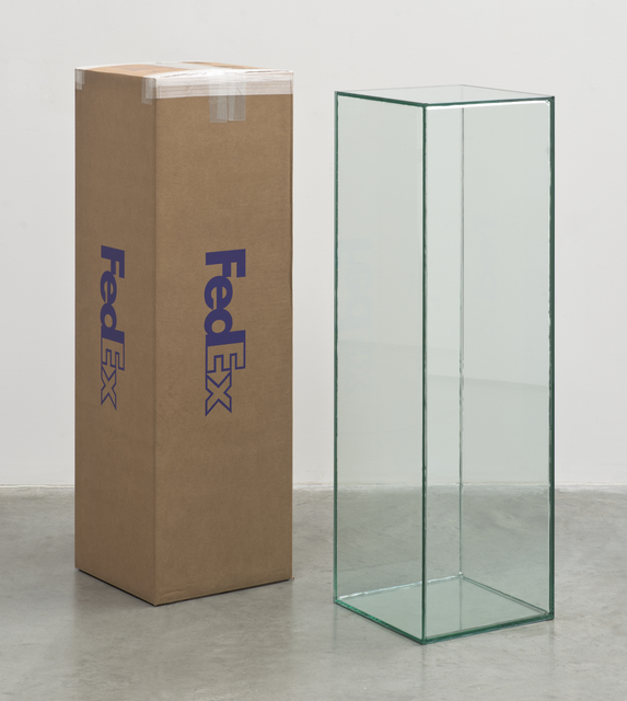 , 'FedEx Golf-Bag Box 2010 FedEx 163166 REV 10/10, Standard Overnight, Los Angeles-Miami trk#797200541310, November 20-21, 2013,' 2012, Thomas Dane Gallery