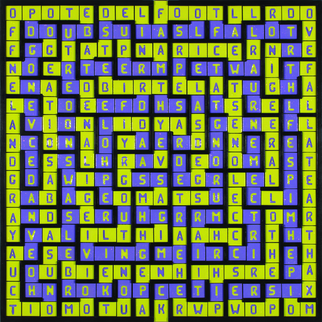 , 'Labyrinth/Failed-Wreck,' 2018, Turner Carroll Gallery