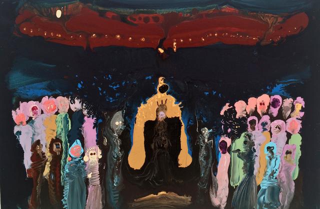 , 'Golden throne,' , Half Gallery