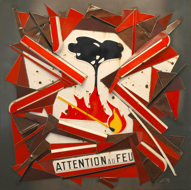 , 'Attention Au Feu,' 2016, Galerie Art Jingle