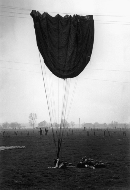 , 'American paratroopers. Wesel, Germany. ,' 1945, Magnum Photos